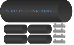 SVCZSS for 5 core cables